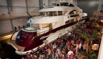 Motor Yacht Quinta Essentia at her launch