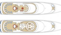 Motor Yacht Reverie - Layout One