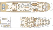 Motor Yacht Reverie - Layout Three