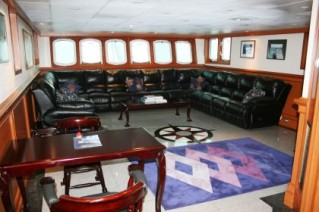 Motor Yacht SARSEN  - Lounge and Theatre