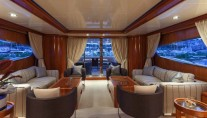 Motor Yacht SELULA -  Main Salon looking Aft