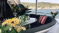 Motor Yacht SHADOW - Alfresco dining