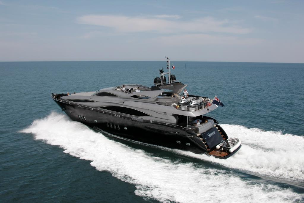 SHADOW Yacht Charter Details Sunseeker 105 Motor