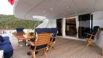 Motor Yacht SOVEREIGN - Aft deck