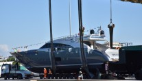 Motor Yacht SPECTRE  - an AB 100 launched at AB Yachts
