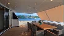Motor Yacht SUD - Aft deck dining