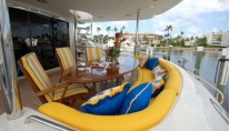 Motor Yacht Secret Spot -  Aft Deck