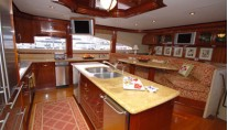 Motor Yacht Secret Spot -  Galley