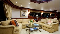 Motor Yacht Secret Spot -  Main salon View 3