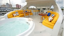 Motor Yacht Secret Spot -  Spa Pool on Sundeck