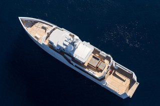 Motor Yacht Sexy Fish - Tansu Yachts - top view