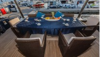Motor Yacht THE BEST WAY - Alfresco dining
