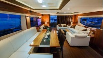 Motor Yacht THE BEST WAY - Formal dining