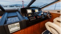 Motor Yacht THE BEST WAY - Helm station
