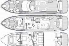 Motor Yacht THE BEST WAY - Layout