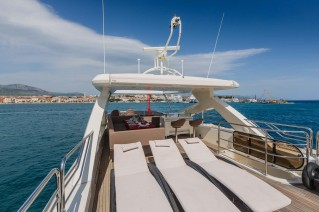 Motor Yacht THE BEST WAY - Sundeck