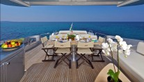 Motor Yacht THEA -  Aft Deck
