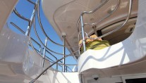 Motor Yacht TOLD U SO -  Exterior Stairs