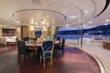 Motor Yacht TOLD U SO -  Formal Dining