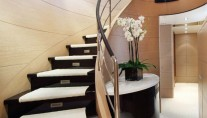 Motor Yacht TOLD U SO -  Interior Stairs