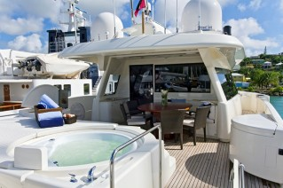 Motor Yacht ZIACANAIA - Bridge Deck