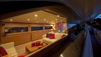 Motor Yacht ZIACANAIA - Salon from Outside