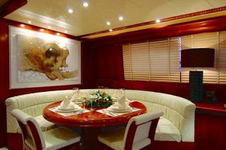 Motor yacht ALTAIR -  Dining area