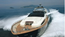 Motor yacht ANYTHING GOES IV - Forward View