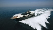 Motor yacht ANYTHING GOES IV - From Above