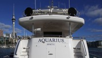 Motor yacht AQUARIUS - Aft View