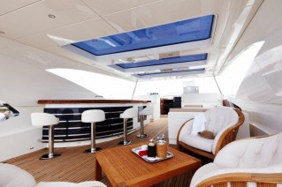 Motor yacht ARION -  Sundeck Bar and Seating