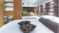 Motor yacht ARWEN - Master with sofa
