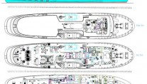 Motor yacht ASTERIA -  Layout