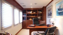 Motor yacht ASTERIA -  Office - Study