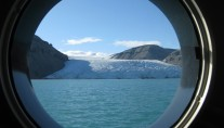 Motor yacht ASTERIA -  View from porthole