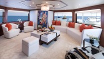Motor yacht AT LAST - Main Salon