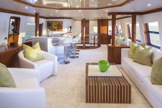 Motor yacht AT LAST - Skylounge Forward