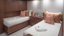 Motor yacht AT LAST - Twin Cabin