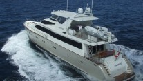 Motor yacht AUSPRO -  Aft View