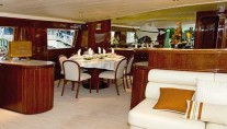 Motor yacht AUSPRO -  Salon and Dining