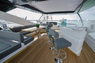 Motor yacht AUTUMN -  Flybrdge Bar
