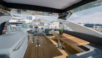 Motor yacht AUTUMN -  Flybridge Seating