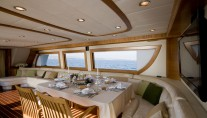 Motor yacht AZMIM -  Formal Dining