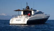 Motor yacht BLOOMS -  At Anchor