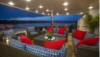 Motor yacht CAPRICORN -  Aft Deck Seating