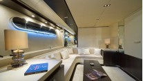 Motor yacht CELESTE -  Master Suite private Salon