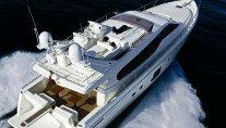 Motor yacht D BOGEY -  From Above