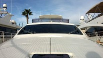 Motor yacht D BOGEY -  Sunpad on Bow