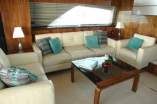 Motor yacht D5 -  Salon Seating