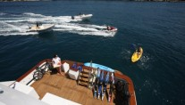 Motor yacht DAYDREAM -  Aft Deck and Toys